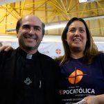 Pe. Joãozinho, SCJ entrevista diretora comercial da Promocat, Kiara Castro, sobre os eventos que serão realizados em 2018 para leigos
