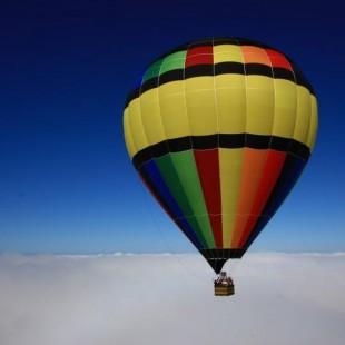 Parceria entre Promocat e Accetur resulta em voo de balão em Aparecida